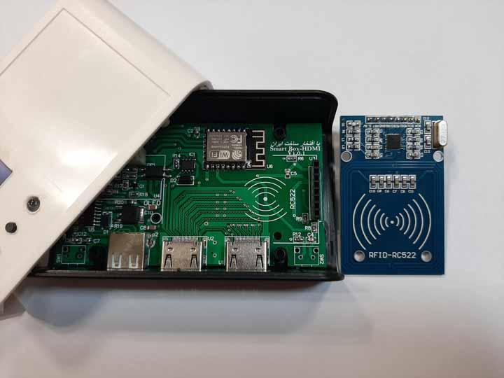 برد کنترلر HDMI از راه دور توسط تلفن همراه با ارتباط WIFI جدا از هم