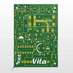 نقشه برد ست کنترل پمپ آب مدل PC-13 که توسط گروه مهندسی ویتا طراحی شده است.