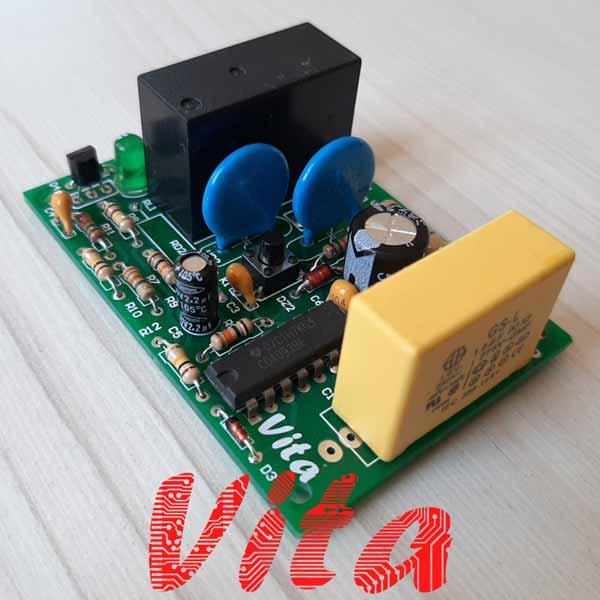 مشخصات، قیمت و خرید برد الکترونیکی ست کنترل پمپ آب مدل PC13
